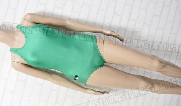 SWiMY スイーミィ ARTLON(アートロン使用) ワンピース水着・女子競泳水着 グリーン
