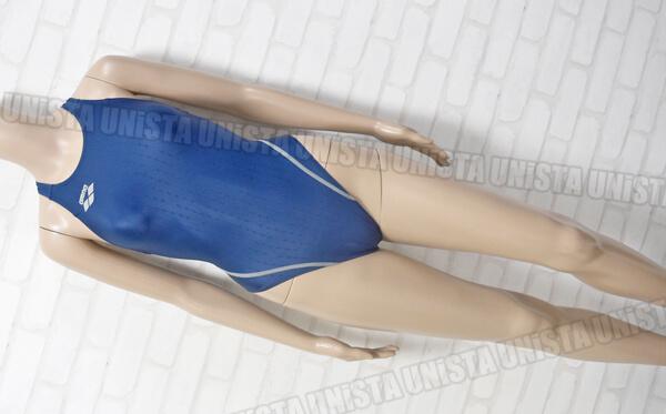 ARENA アリーナ ARN-6012W 初期NUX-F RIMIC ハイカット女子競泳水着 ネイビー