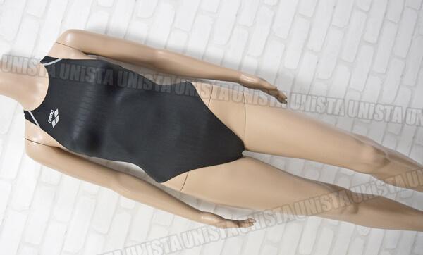 ARENA アリーナ FAR-2503W X-PYTHON RIMIC ハイカット FINA女子競泳水着 ブラック