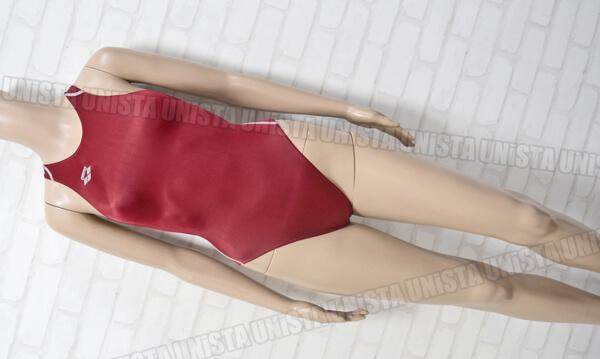 ARENA アリーナ FAR-2503WJ X-PYTHON スーパストリーナ FINA女子競泳水着 レッド