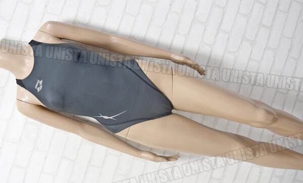 ARENA アリーナ FAR-8515WH NUX-W RIMIC ハイカット女子競泳水着 グレー