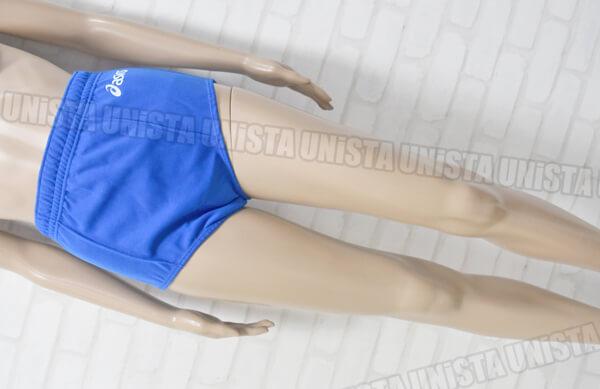 廃盤品 ASICS アシックス XW2725 女子バレーボールブルマ ショーツ ブルー