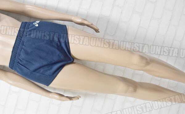 廃盤品 ASICS アシックス XW2725 女子バレーボールブルマ ショーツ ネイビー