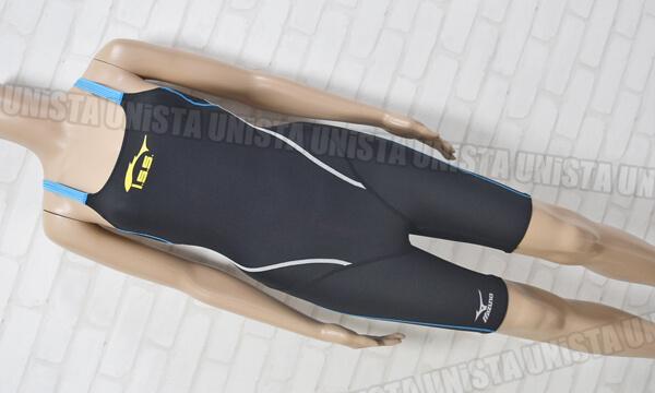 MIZUNO ミズノ EXERSUITS ISS イトマンスイミングスクール指定女子競泳水着 ブラック・ブルー