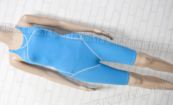 SPEEDO スピード SD48H52W flyingfish-W レッグスーツ女子競泳水着 ライトブルー