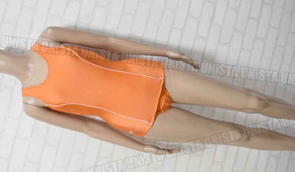 別注品 TOPACE トップエース クラレ KK77 旧型スクール水着・女子競泳水着 オレンジ