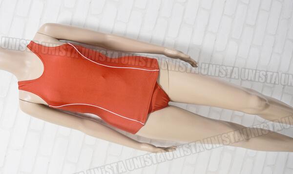 ミアコスチューム NK6014M 旧型女子ワンピース水着・コスプレ衣装 レッド