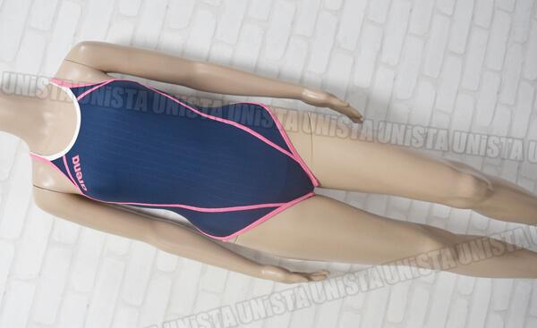 ARENA アリーナ SAR-6101W TOUGHSUIT タフスキンストライプ ダブルエステル 女子競泳水着 ネイビー・ピンク