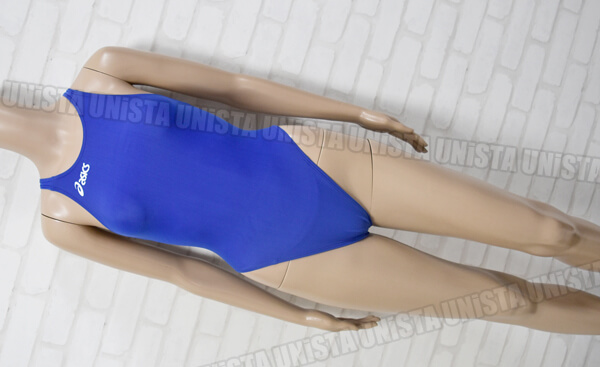 ASICS アシックス ALS643 P2 SPIRALCUT2 ハイカット女子競泳水着 ブルー