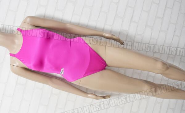 SPEEDO スピード AQUASPEC アクアスペック マーキュライン 女子競泳水着 ピンク mizuno製