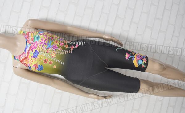 SPEEDO スピード SD48H24 FLEX-Σ フレックスシグマ Symbolizing Japan FINA女子競泳水着 ブラック・イエロー