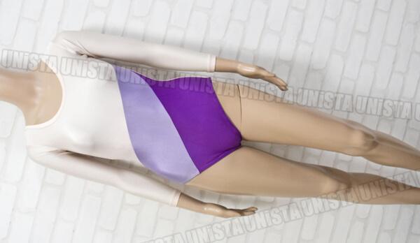 Swing Bird スイングバード 女子体操競技 ロングスリーブレオタード 淡ピンク