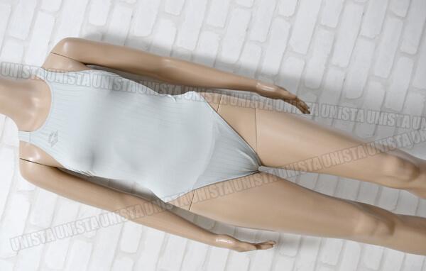 ARENA アリーナ ARN-3013W STRUSH DOUBLEMAT-F RIMIC ハイカット女子競泳水着 ライトグレー