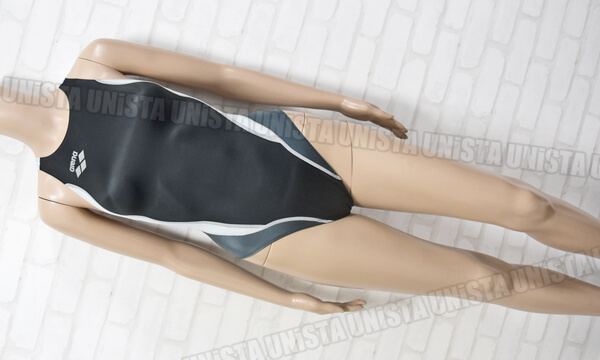 ARENA アリーナ ARN-7014WH NUX・NUX-D ハイカット 女子競泳水着 ブラック・グレー