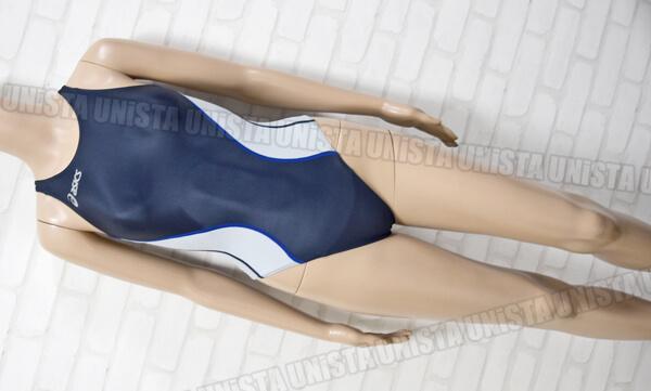 ASICS アシックス ALS419 SPLASHER スプラッシャー ホールドカット 女子競泳水着 ネイビー