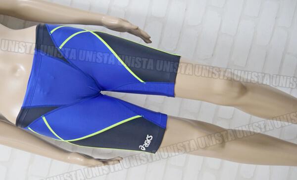 ASICS アシックス AMA410 HYDRO SP HYDRO MESH ハイドロSP・ハイドロメッシュ 男子競泳水着 ブルー・ブラック