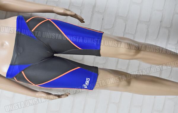 ASICS アシックス AMA410 HYDRO SP HYDRO MESH ハイドロSP・ハイドロメッシュ 男子競泳水着 ブルー・グレー
