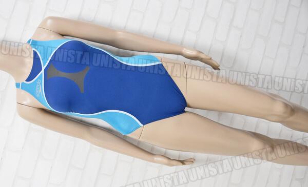 SPEEDO スピード SD48A51 Flyingfish-HYBRID フライングフィッシュハイブリッド ハイカット女子競泳水着 ブルー