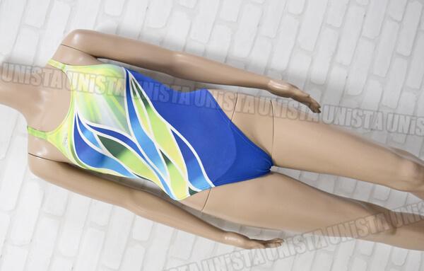 SPEEDO スピード AQUABLADE2 アクアブレード2 女子競泳水着 ブルー・グリーン