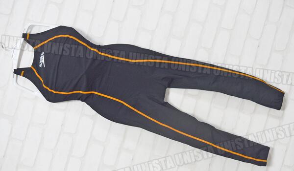 SPEEDO スピード SD48G01 FASTSKIN FS-PRO ロングジョン 女子競泳水着 ブラック