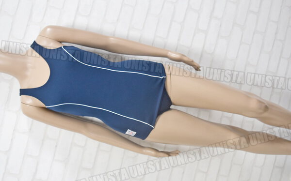 TOPACE クラレ サマーメイト KK77 旧型ワンピース水着・女子競泳水着 ネイビー