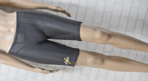 ASICS アシックス AMA403 初期ロゴ HYDRO SP 男子競泳水着 グレー