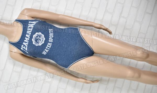 ARENA アリーナ FSA-3637W TEAMARENA クロスバック 女子競泳水着 デニム風