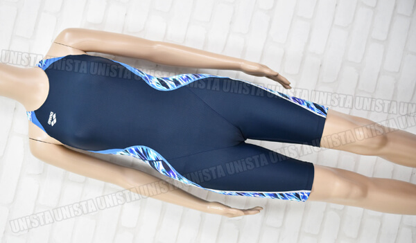ARENA アリーナ ARN-8056W NUX-D UROKOSKIN ハーフスパッツ FINA女子競泳水着 ネイビー・ブルー