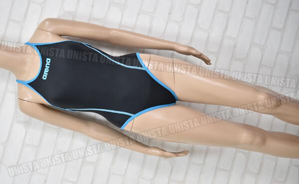 ARENA アリーナ FSA-3601 TOUGHSUIT タフスキンシルミー 女子競泳水着 ブラック・ブルー