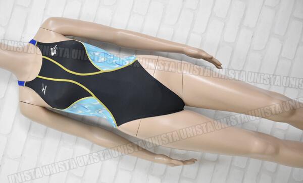 MIZUNO ミズノ K85EC01496 MIZUNO-KX SWINスイミングスクール FINA女子競泳水着 ブラック・ブルー