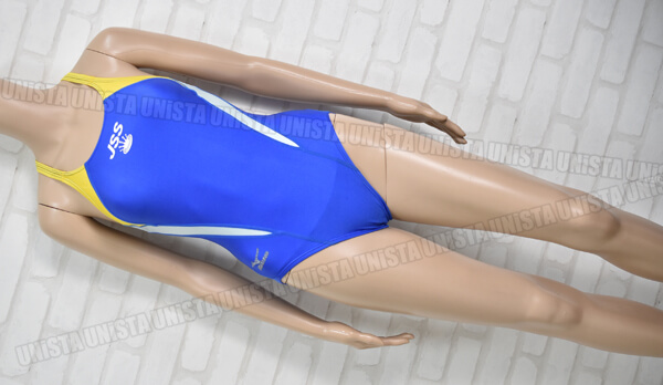 MIZUNO ミズノ JSS スコーパー 女子競泳水着 ブルー・イエロー