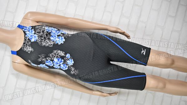 MIZUNO ミズノ N2MG7743 Stream Aqutiva ストリームアクティバ FINA女子競泳水着 ブラック・ブルー