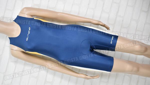 ORCA オルカ VD001 トライアスロン 女子ワンピース水着 ネイビー・イエロー