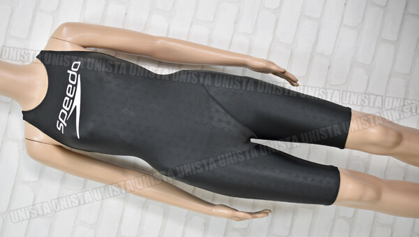 SPEEDO スピード FLEX-Σ フレックスシグマ ハーフスパッツ女子競泳水着 ブラック