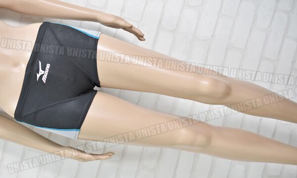 MIZUNO ミズノ 85RT-80209 MIGHTYLINE マイティライン ショートスパッツ水着・男子競泳水着 ブラック・グレー