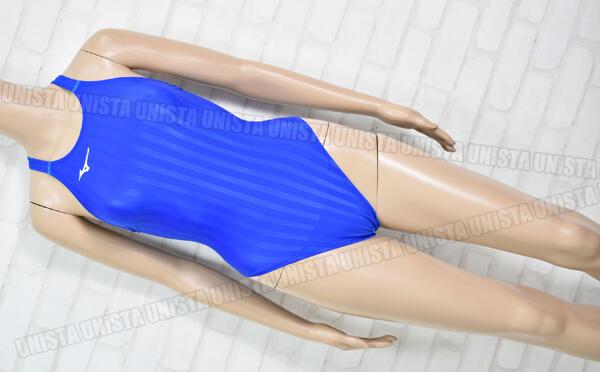 MIZUNO ミズノ N2MA8221 Stream Aqucela ストリームアクセラ FINA女子競泳水着 ブルー