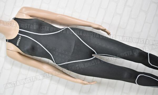 SPEEDO スピード 83OC-15009 AQUABLADE-2R ロングジョン 女子競泳水着 ブラック