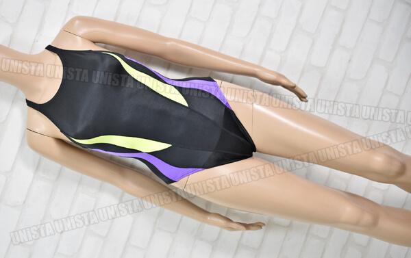 SPEEDO スピード AQUASPEC アクアスペック マーキュライン 女子競泳水着 ブラック