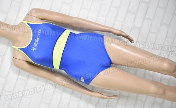 SPEEDO スピード RENAISSANCE ルネサンス スポーツクラブ指定 女子競泳水着 ブルー