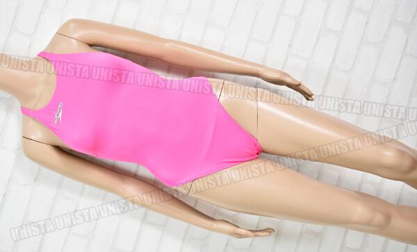 別注 speedo×トムスポーツ SPEEDO スピード SD46A02N Fastskin XT-W レースカットスーツ 女子競泳水着 ピンク
