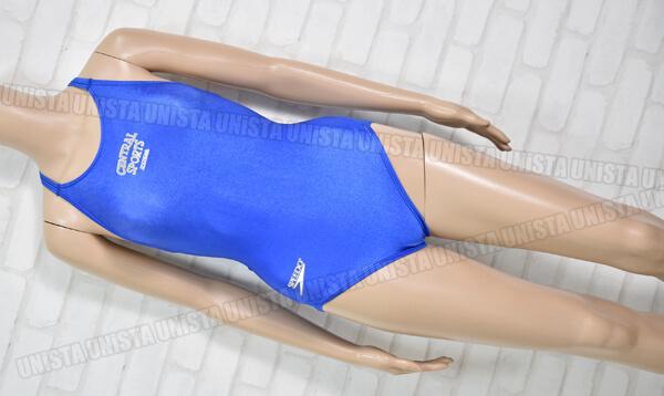 SPEEDO スピード CENTRAL SPORTS セントラルスポーツ 女子競泳水着 ブルー