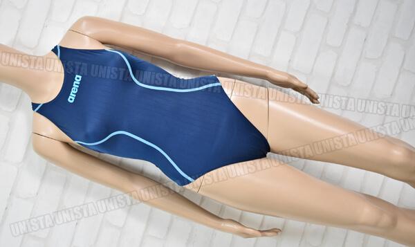 ARENA アリーナ ARN-7021WL X-PYTHON2 エックスパイソン2 クロスバック FINA女子競泳水着 ネイビー