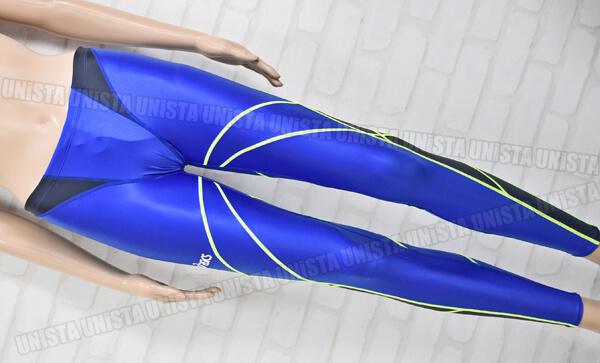 ASICS アシックス AMA411 TLINER HYDRO SP ハイドロSP ロングジョン ロングスパッツ男子競泳水着 ブルー