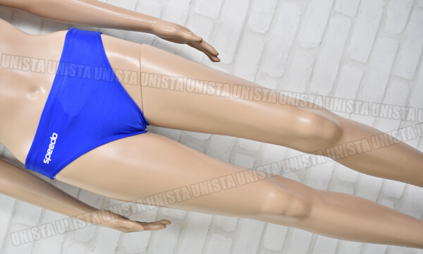 SPEEDO スピード K83NM-1274 Vカット ブーメラン水着・男子競泳水着 ブルー mizuno期