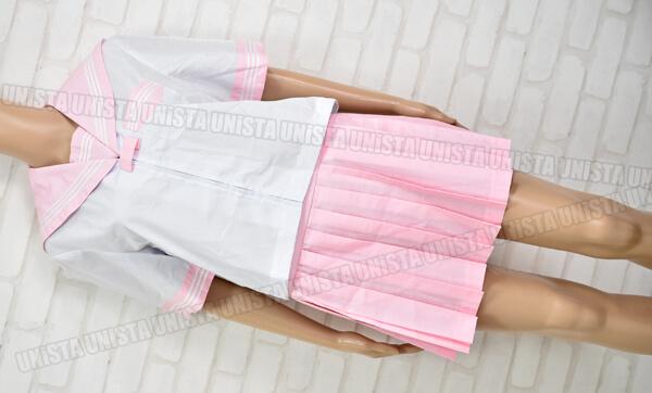 NON セーラー服・コスプレ衣装 ピンク・ホワイト
