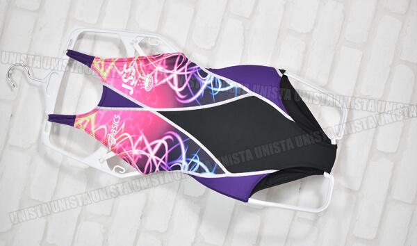 ASICS アシックス SPLASHER-S スプラッシャーS JSS ジャパンスイミングスクール指定女子競泳水着 ブラック・ピンク