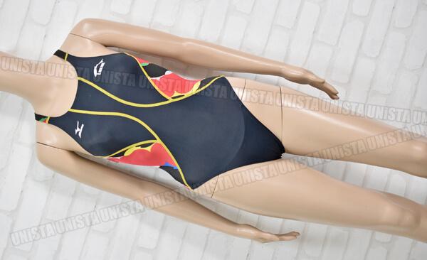 MIZUNO ミズノ K85EC03191 MIZUNO-KX ISS イトマンスイミングスクール指定女子競泳水着 ブラック・レッド
