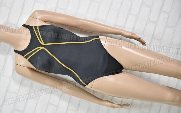 SPEEDO スピード SD42A05 FLEX×FASTSKIN XT-W Active HYBRID FINA女子競泳水着 ブラック・ゴールド