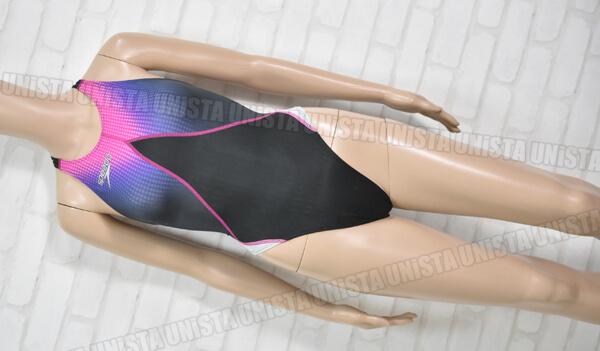 SPEEDO スピード AQUABLADE-Σ☆ アクアブレードシグマスター 女子競泳水着 ブラック・ピンク
