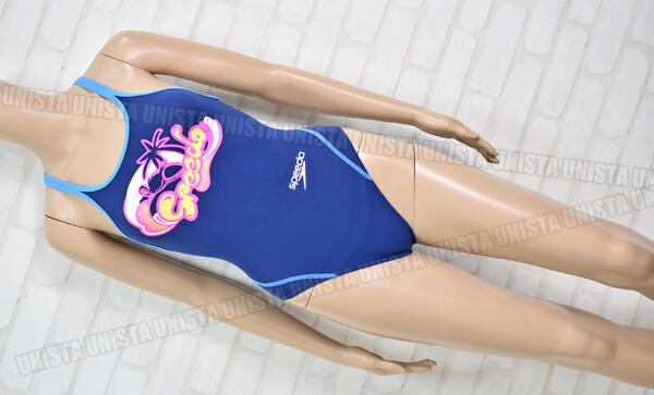 SPEEDO スピード SD36T03 ドリームチーム ENDURANCE J エンデュランスJ 女子競泳水着 ネイビー